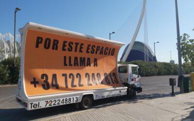 ¿Por qué escoger la publicidad exterior en movimiento en ciudades como Valencia y Alicante?