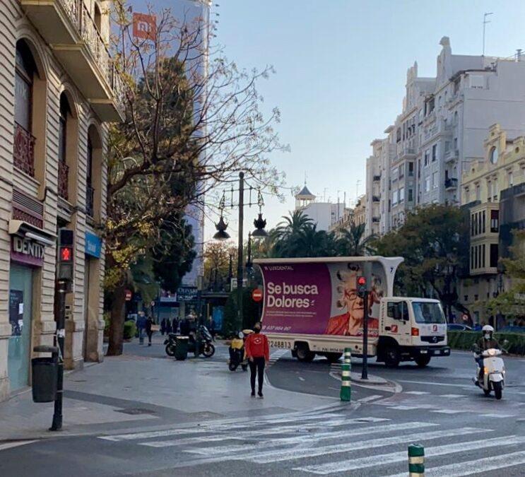 valla móvil en Valencia