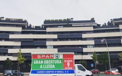 Nueva apertura de supermercados Spar en LLeida
