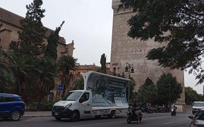 La Academia de Policía Jurispol se pone a rodar por Valencia